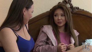 Pretty asian girl Ayumi Anime visits Dana Dearmond for some lesbian adventure